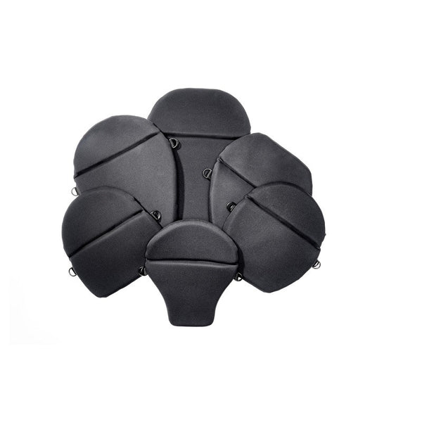 ULTRA-FLEX™ Motorcycle Gel Seat Cushion, Medium with removable cover