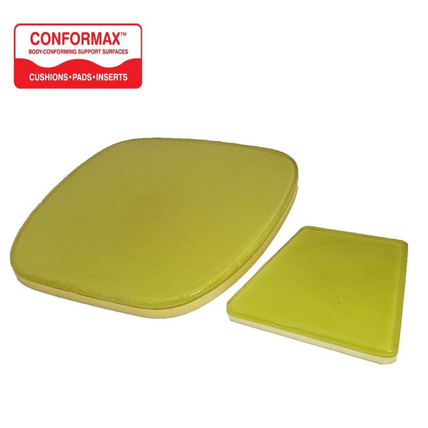CONFORMAX™ Motorcycle Seat Gel Pad Combo Set