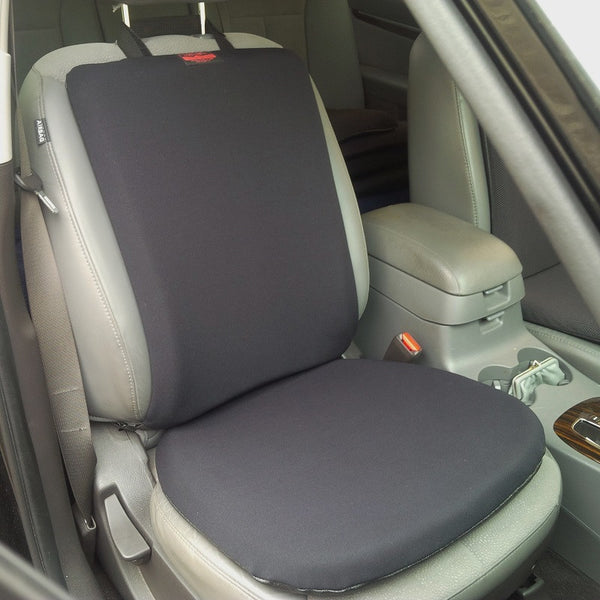 "CONFORMAX™ ""Cocoon of Comfort"" Car Seat And Seat-Back Gel Cushion Combo Set - OnlyGel"