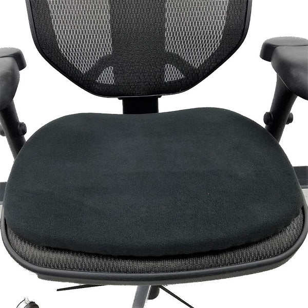 Conformax New Era Gel Seat Cushion on a desk chair