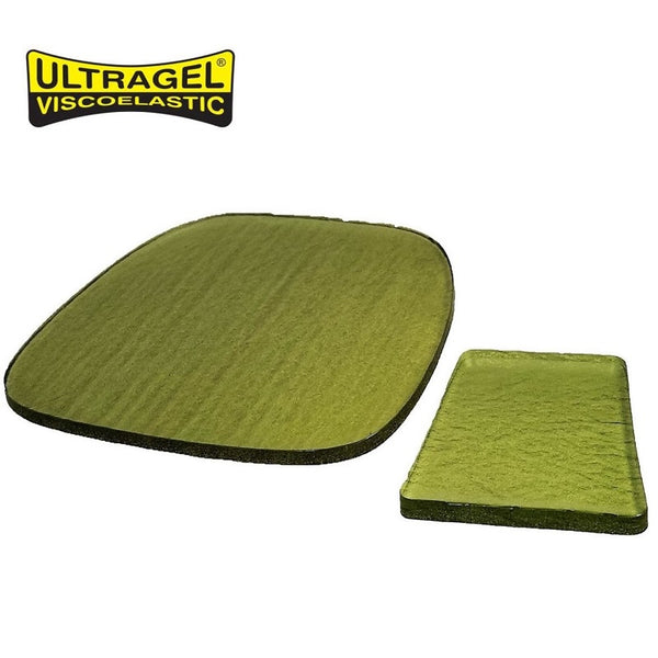 ULTRAGEL Motorcycle Seat Gel Pad Combo Set