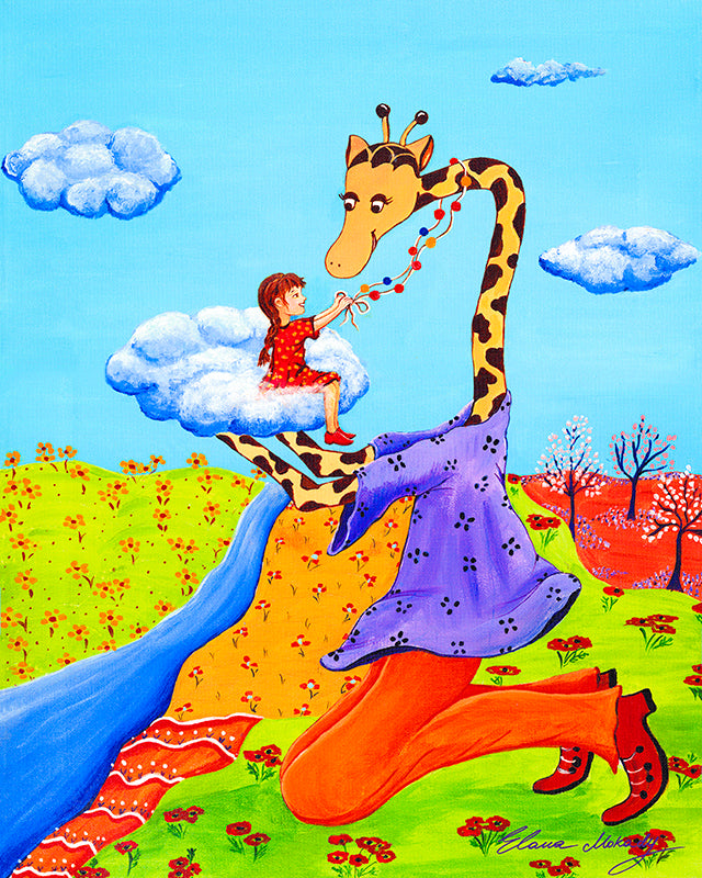 A Little Girl's Dream, Original Wall Art