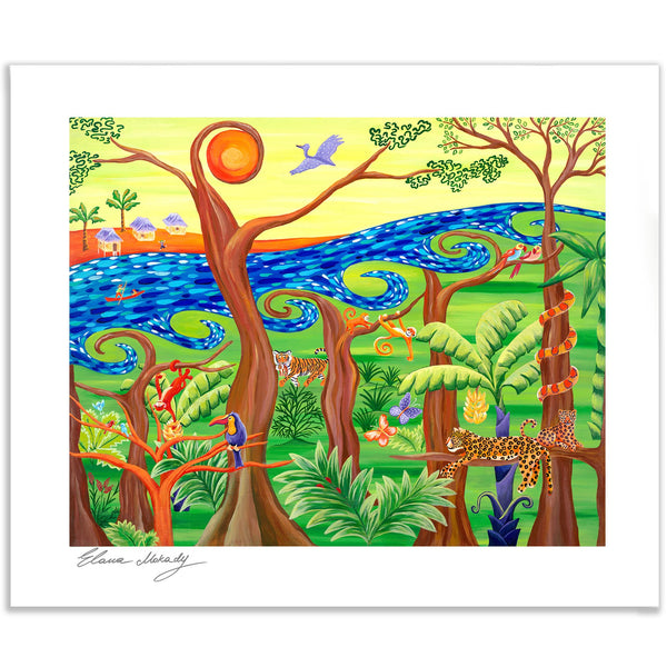 My Side of the Jungle, Art Print