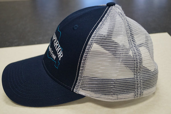 Lake Superior Unsalted & Shark Free Trucker Cap