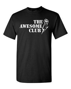 Awesome Club T-shirt with Name and Number