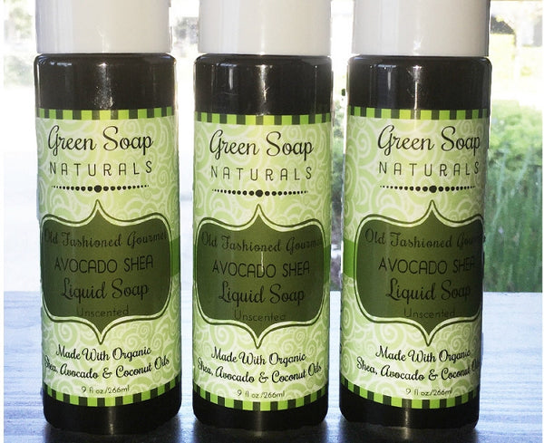 Avocado & Shea Gourmet Liquid Soap