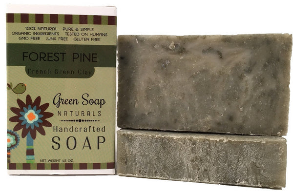 Forest Pine French Green Clay Bar