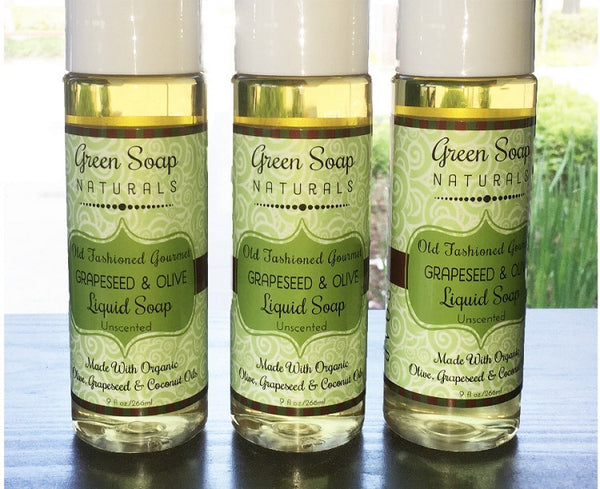 Grapeseed & Olive Gourmet Liquid Soap