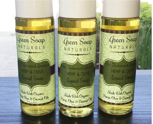 Hemp & Olive Gourmet Liquid Soap