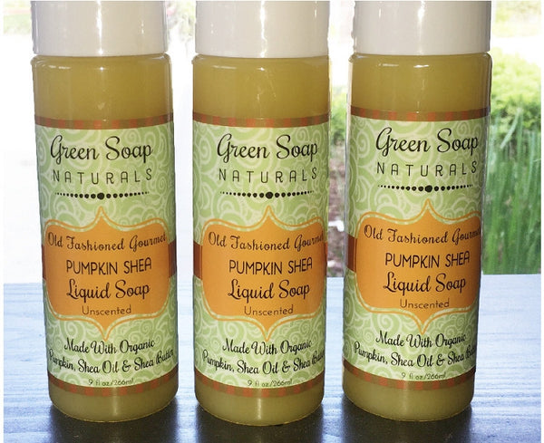 Pumpkin Shea Gourmet Liquid Soap