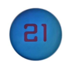 USHA Red 21 Handball - One Ball Can - WPH Live's The Handball Store - 2