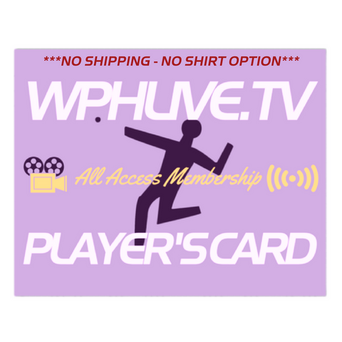 All Access Webcast Pass Renewal or Purchase - (No Shirt ~ No Shipping Fees)
