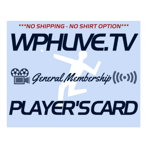 General Membership Renewal or Purchase - (No Shirt ~ No Shipping Fees)