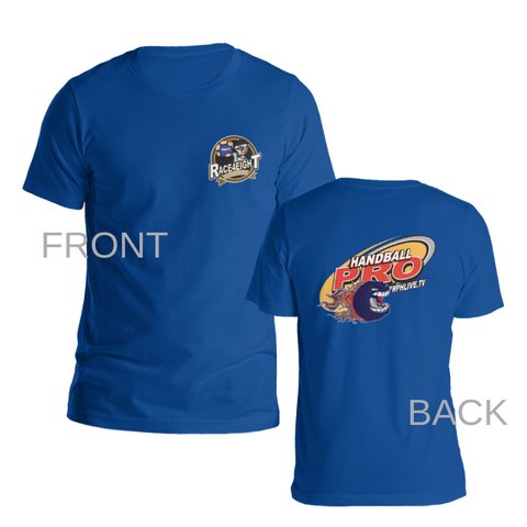 Race4Eight Pro DriFit Royal Blue Tee w/WPH Membership