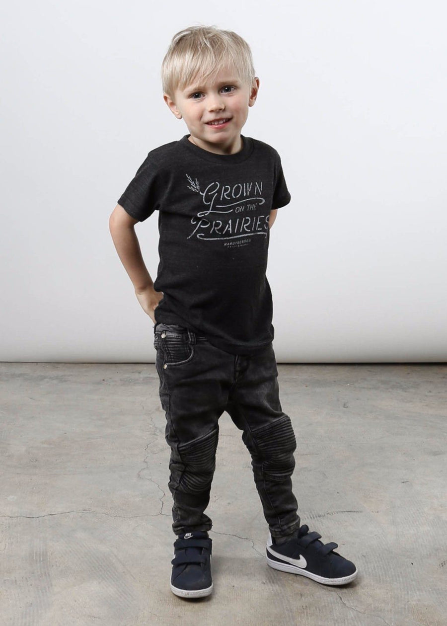 Grown On The Prairies Tee | Kids