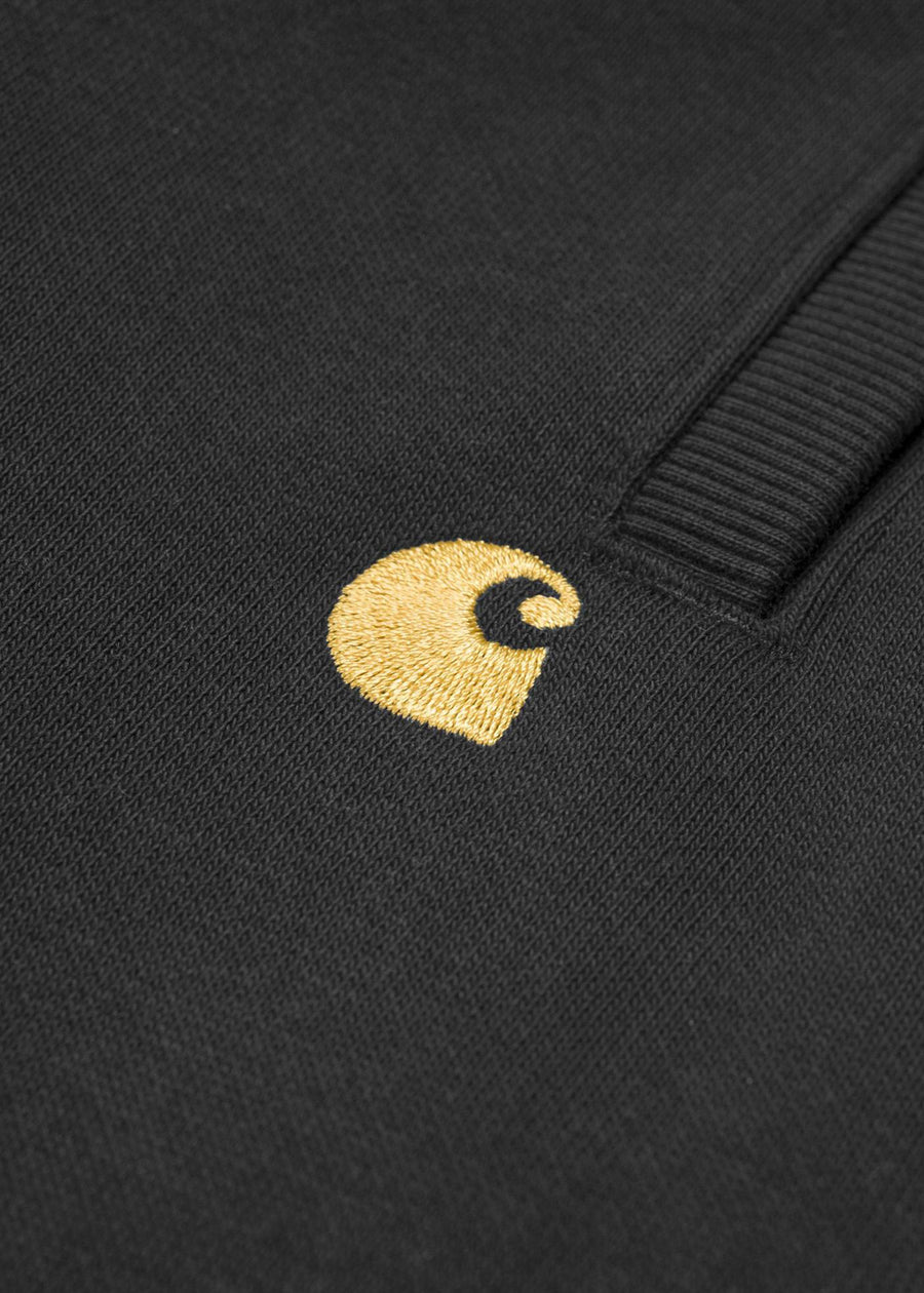 Carhartt WIP - Chase Sweat Short - Black/Gold