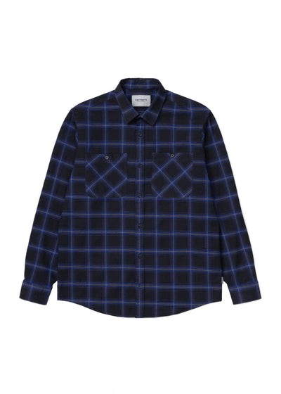 Carhartt WIP - L/S Darren Check Shirt, Button Up Shirt, Carhartt WIP, Hardpressed Print Studio