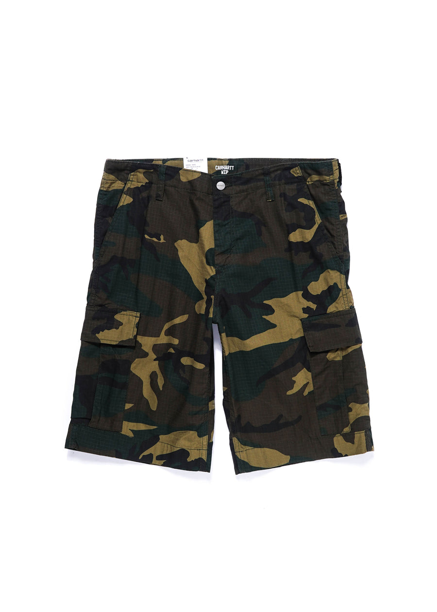 Carhartt WIP - Regular Cargo Short - Camo Laurel - Hardpressed Print Studio
