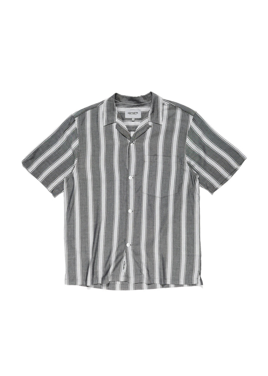 Carhartt WIP - S/S Chester Shirt - Black Stripe