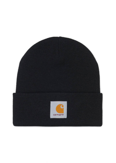 Carhartt WIP - Short Acrylic Watch Hat - Black - Hardpressed Print Studio