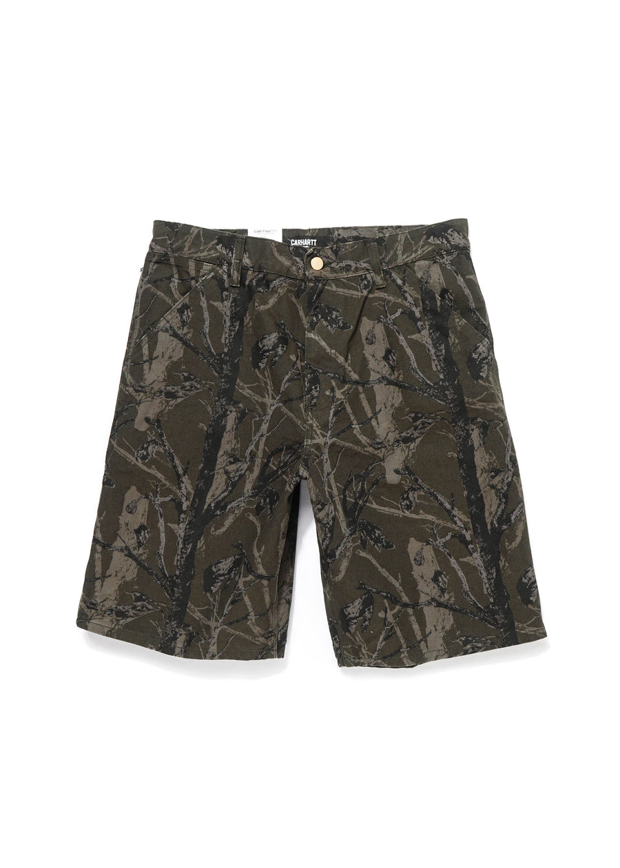 Carhartt WIP - Single Knee Short - Camo Tree - Hardpressed Print Studio