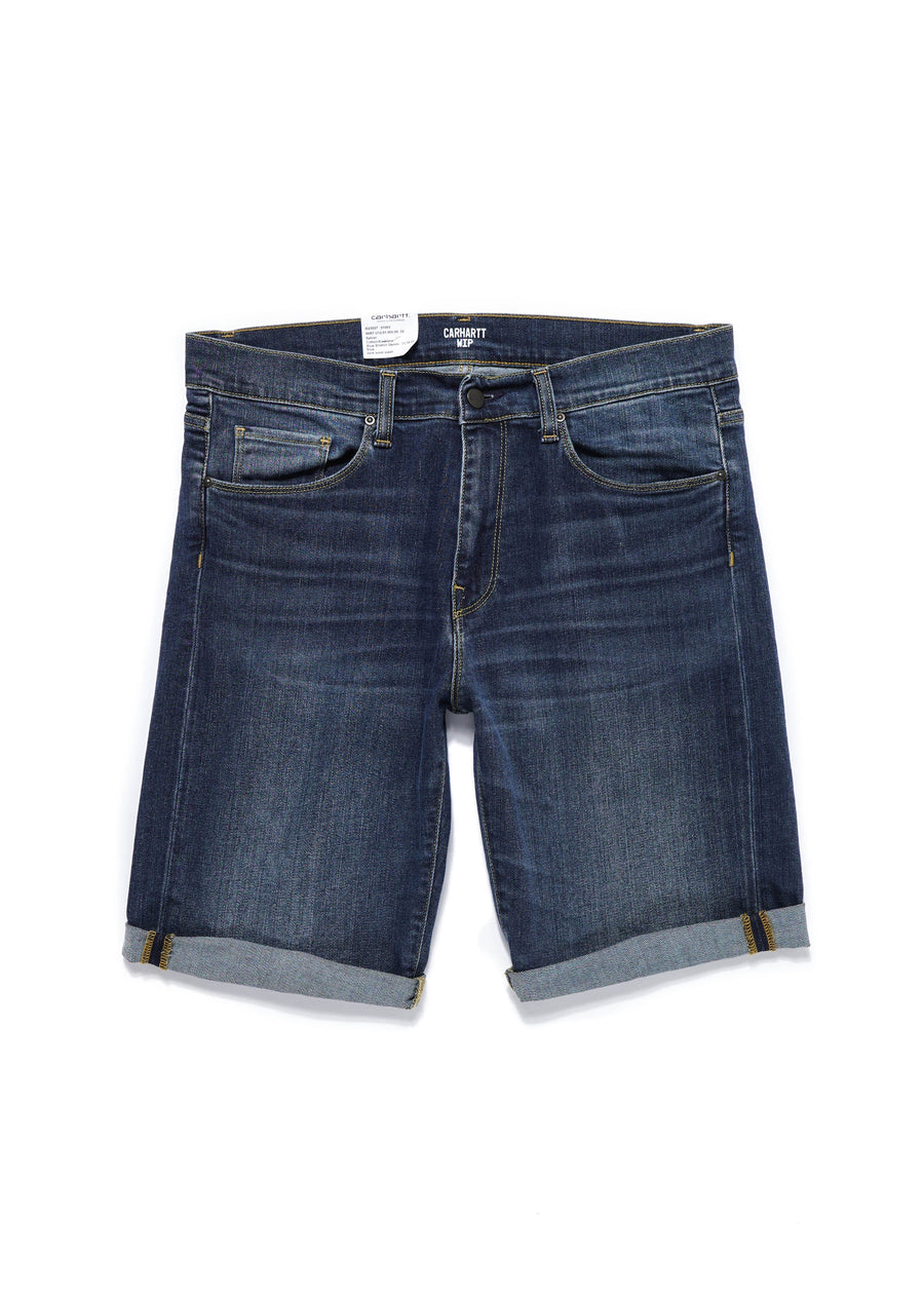 Carhartt WIP - Swell Short - Blue Dark Worn Wash