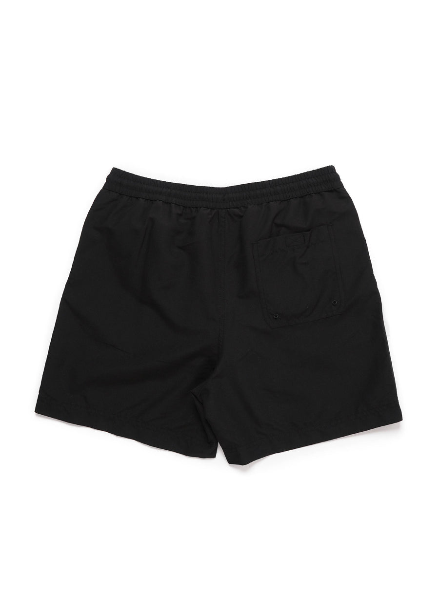 Carhartt WIP - Chase Swim Trunk - Black/Gold - Hardpressed Print Studio