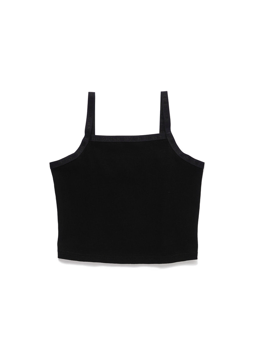 DR DENIM - Britney Singlet - Black