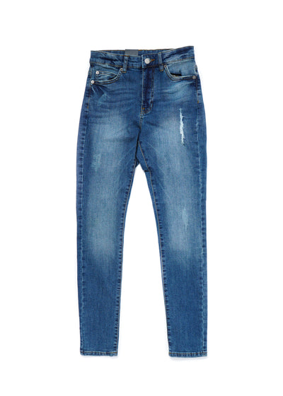 DR DENIM - Erin - Railroad Blue, Denim, Dr Denim, Hardpressed Print Studio