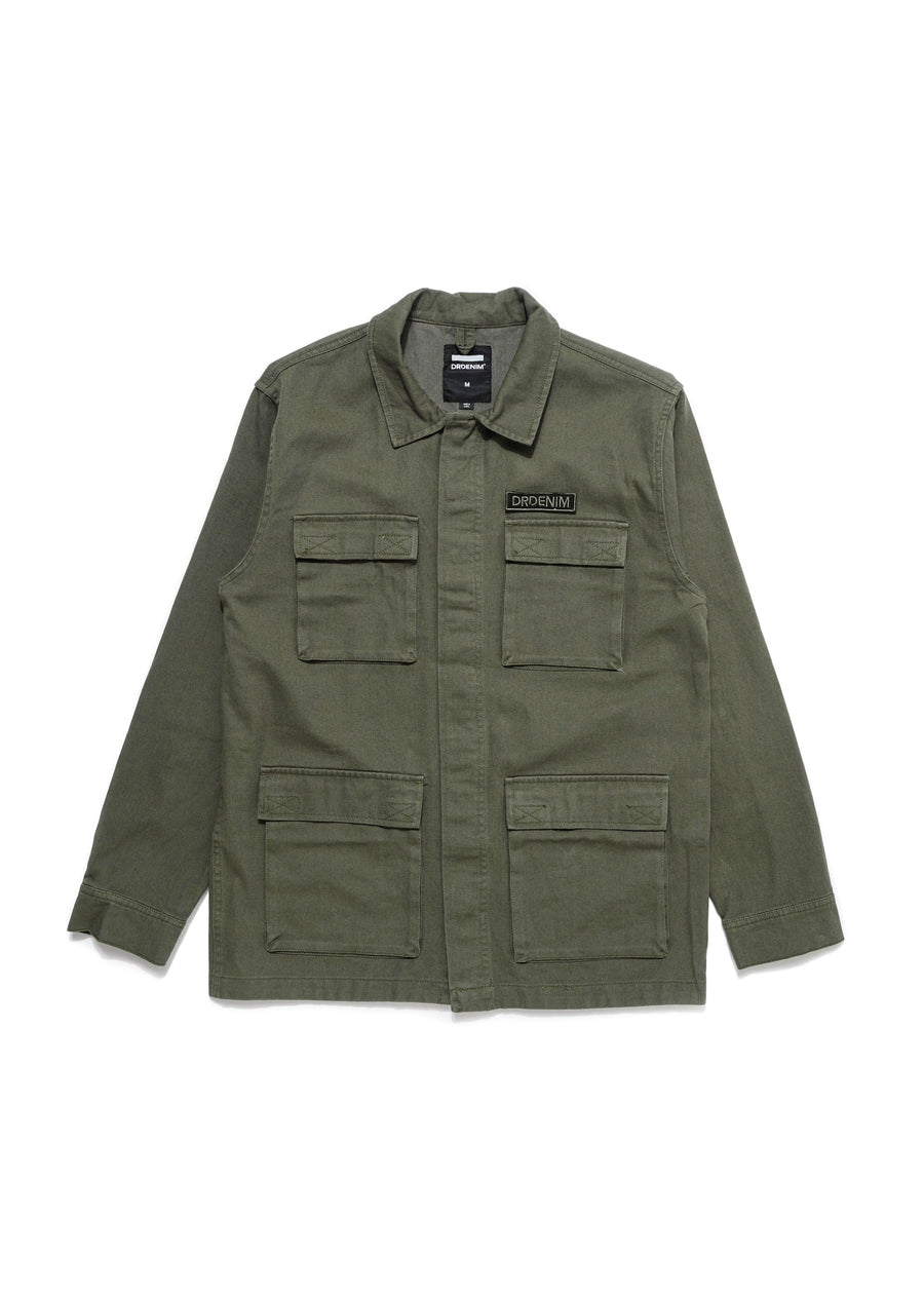 DR DENIM - Owen Jacket - Dark Emerald