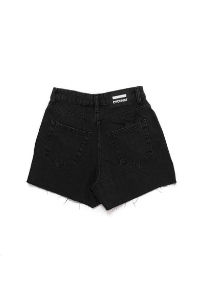 DR DENIM - Nora Shorts - Charcoal Black - Hardpressed Print Studio