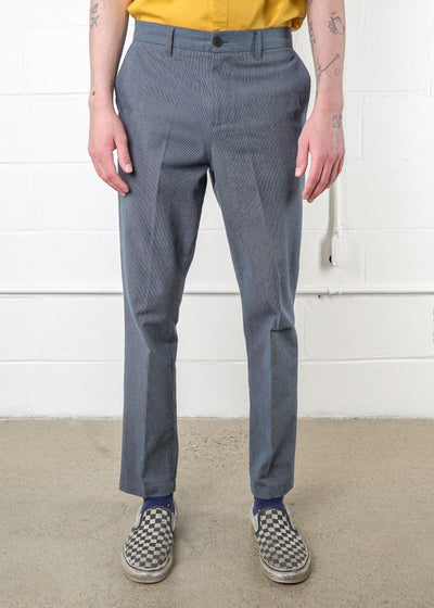 Frank And Oak - Cotton Stretch Tapered Trouser, Pants, Frank And Oak, Hardpressed Print Studio
