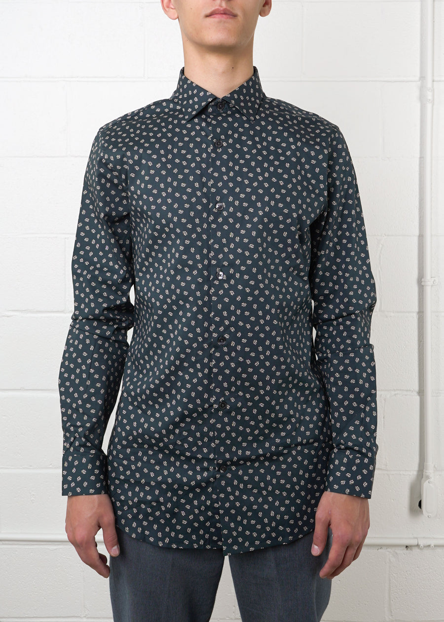 Frank And Oak - Laurier AOP Floral Shirt, Button Up Shirt, Frank And Oak, Hardpressed Print Studio