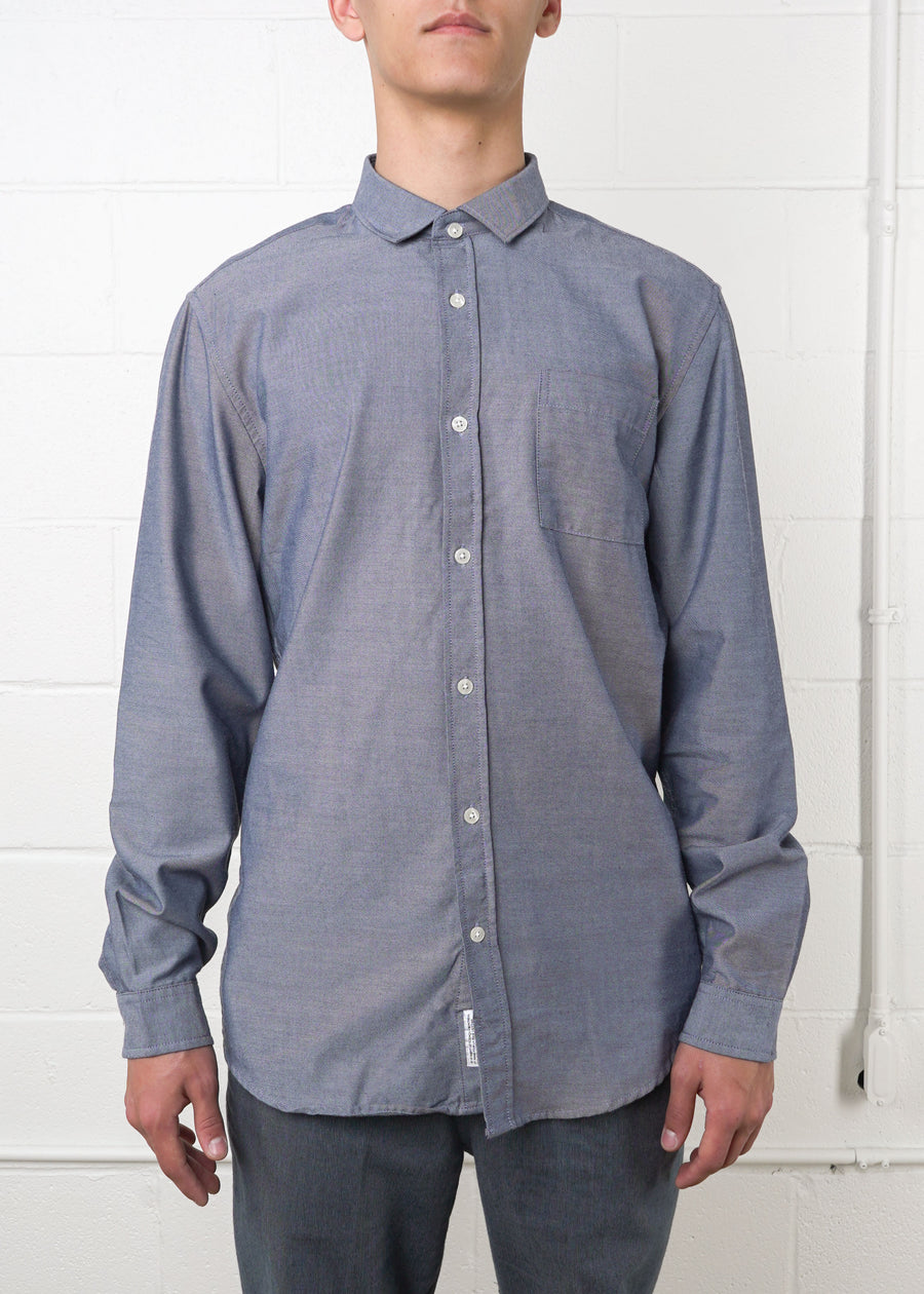 Frank And Oak - Recycled Polyester Blend Shirt, Button Up Shirt, Frank And Oak, Hardpressed Print Studio