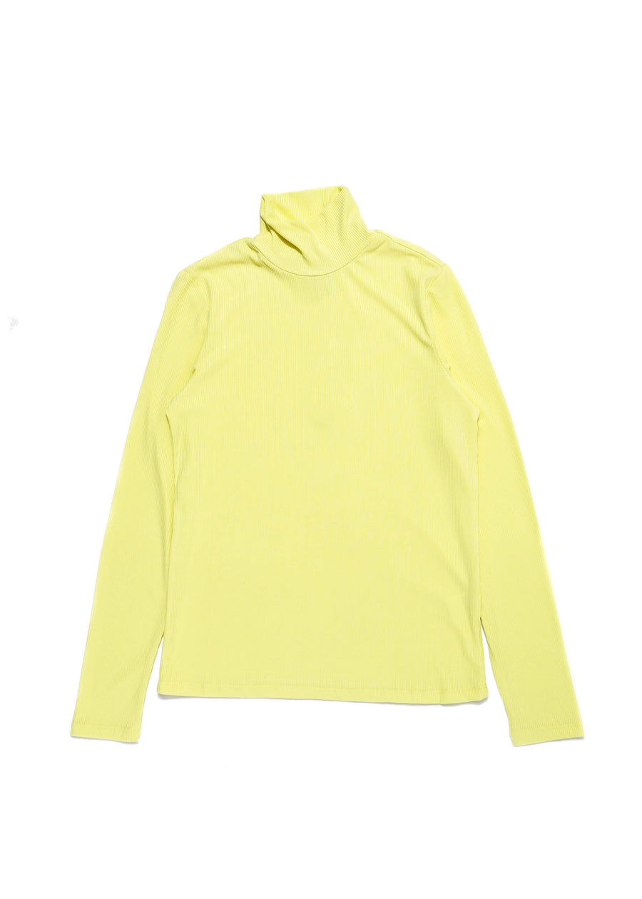 Frank And Oak - L/S Ribbed Mockneck