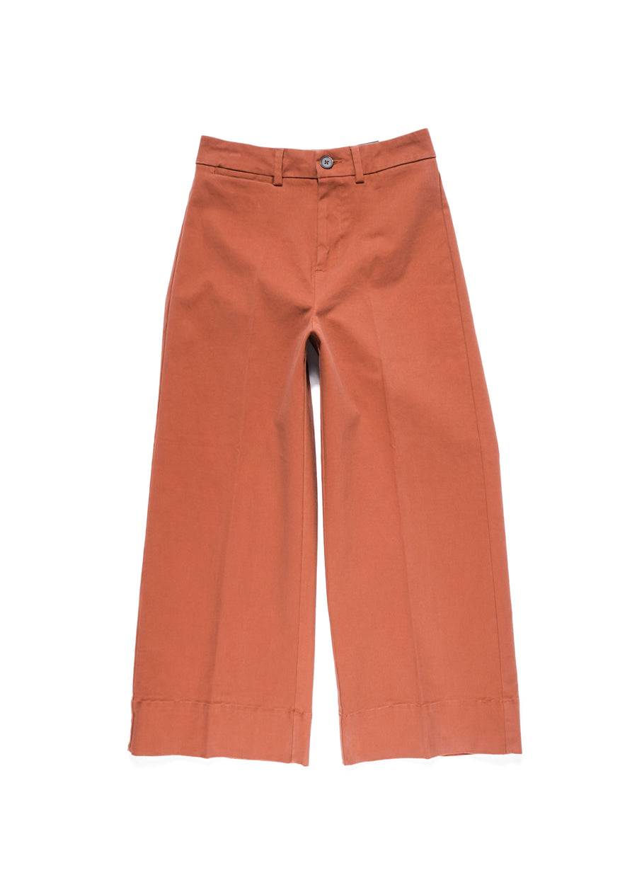 Frank And Oak - The Josephine Cotton Pant - Red