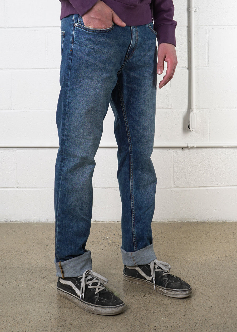 Frank And Oak - The Dylan Slim Denim Pant, Denim, Frank And Oak, Hardpressed Print Studio