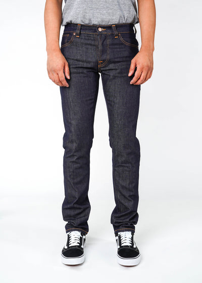 Nudie Jeans Co. - Grim Tim Dry Open Navy - Hardpressed Print Studio