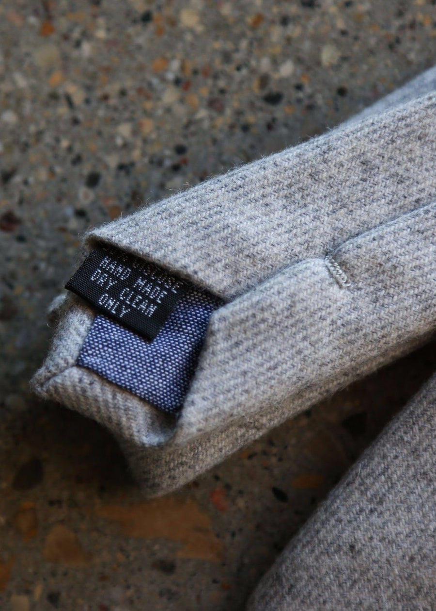 Hardpressed Wool Tie, Ties, Hardpressed Print Studio, Hardpressed Print Studio
