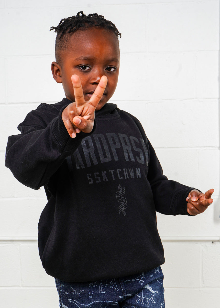 Alumni Sweater | Black/Black | Kids