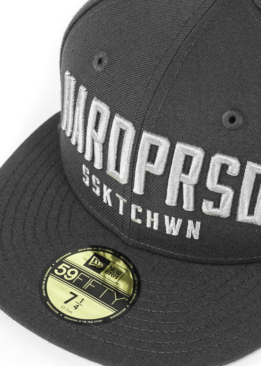 Hardpressed Alumni Cap NEW ERA 59FIFTY Fitted | Graphite