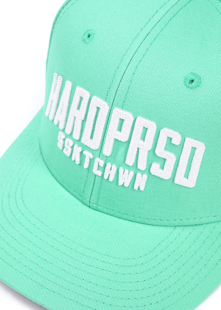 Hardpressed Alumni Snapback | Teal/White, Hats, Hardpressed Print Studio, Hardpressed Print Studio