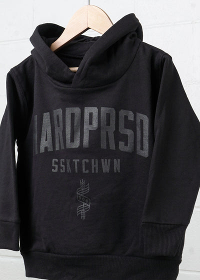 Alumni Sweater | Black/Black | Kids, Kids Sweatshirts, Hardpressed Print Studio, Hardpressed Print Studio