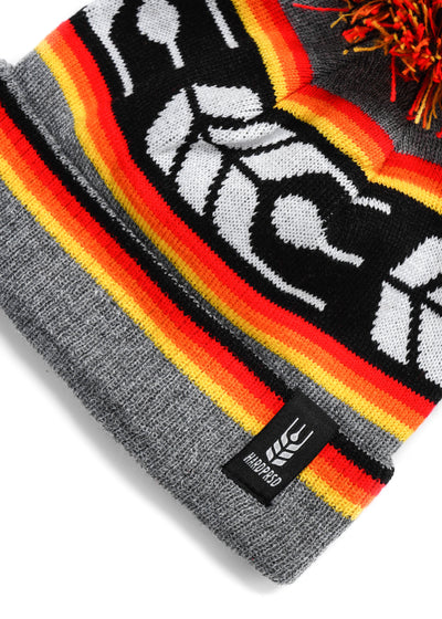 Cross Grain Pom Toque | Kids - Hardpressed Print Studio