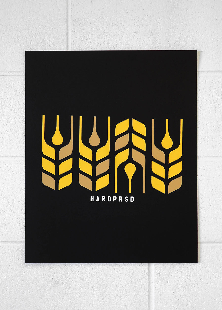 Cross Grain Poster Print | Portrait