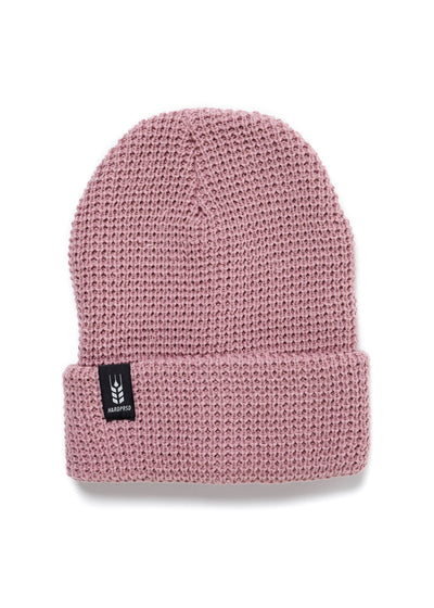 Cross Grain Waffle Toque | Pink | Adult - Hardpressed Print Studio