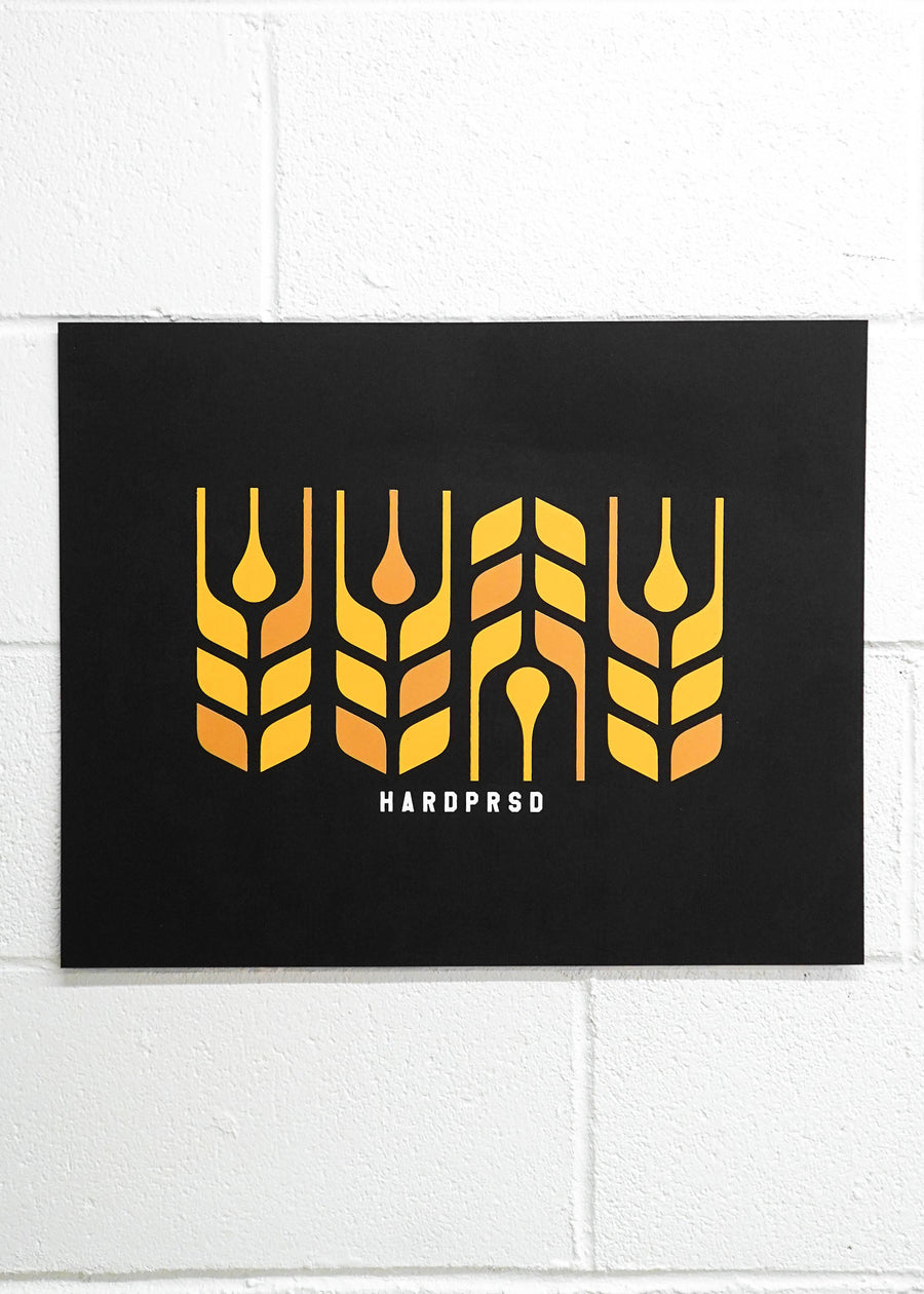 Cross Grain Poster Print