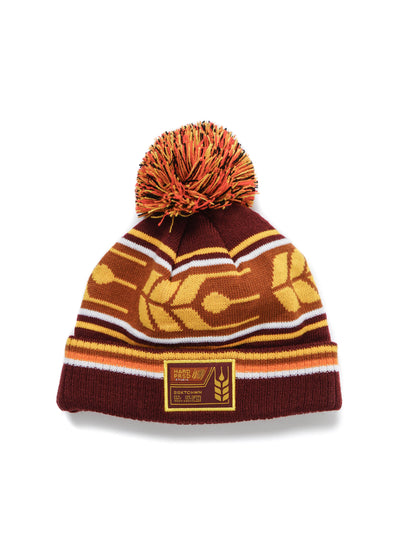 Grain Car Pom Toque | Kids - Hardpressed Print Studio