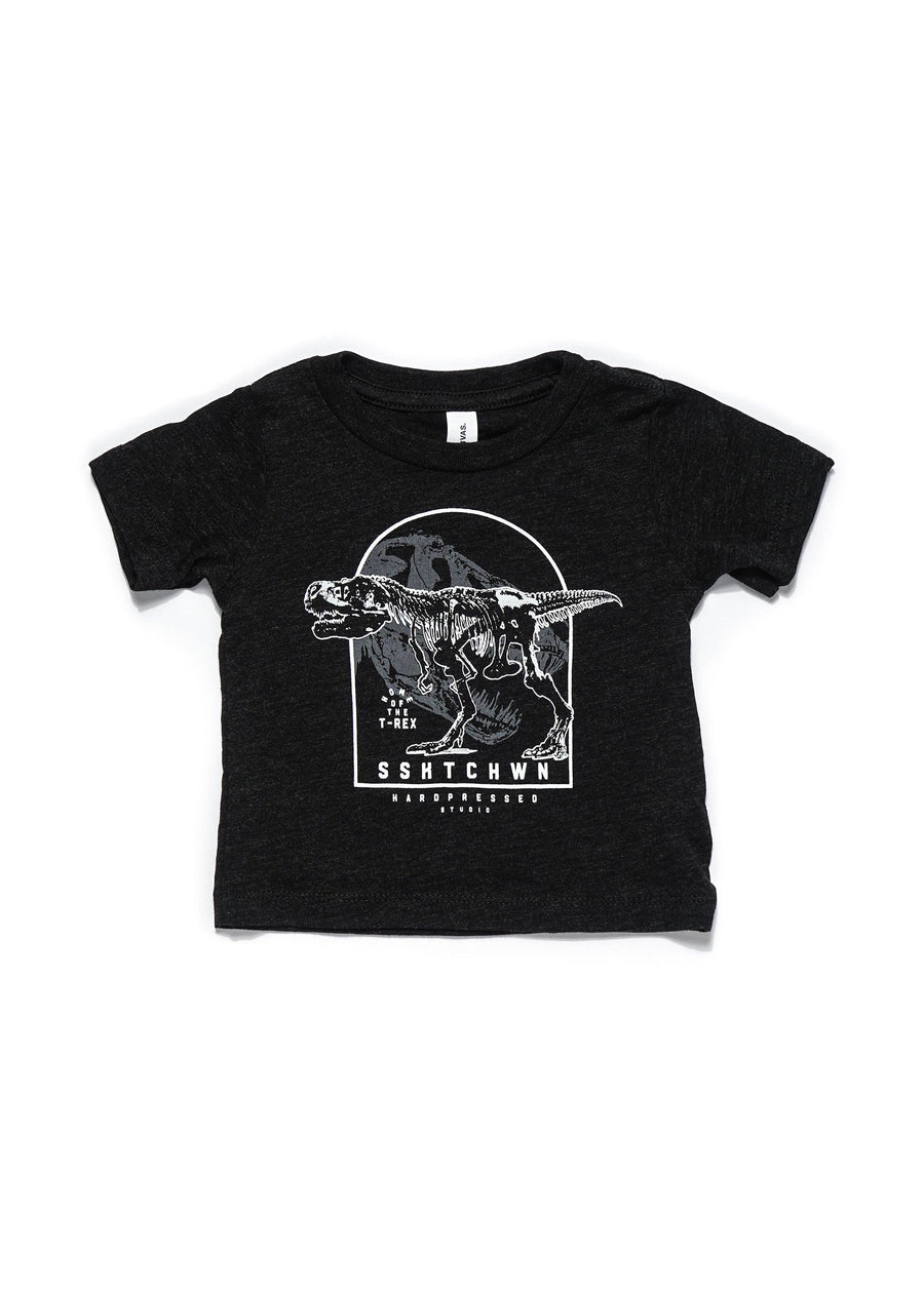 Home of the T-Rex Tee | Tri-Black | Kids