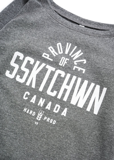 Province Of - Slouchy | Tri-Grey | Ladies, Sweatshirts, Hardpressed Print Studio, Hardpressed Print Studio